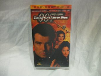 VHS - Tomorrow Never Dies  007