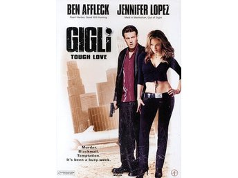 GIGLI TOUGH LOVE  DVD UTGÅTT BEN AFFLECK JENNIFER LOPEZ