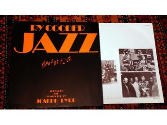 RY COODER Jazz 1978 Joe Byrd David Lindley Guitar Rock