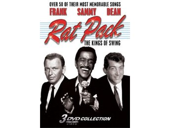 The Rat Pack - The Kings of Swing - Frank Sinatra - Sammy Davis Jr - 3-Disc DVD