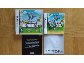 Nintendo DS: New Super Mario Bros (svenskt)