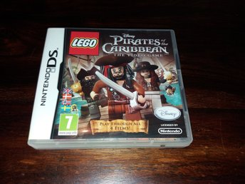 Lego Pirates of the Caribbean, Nintendo DS, Komplett, Fint Skick!