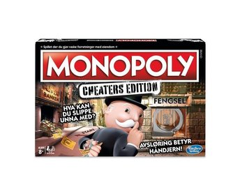Monopoly Cheaters Edition NO