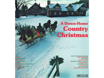 VARIOUS ARTISTS - A DOWN-HOME COUNTRY CHRISTMAS. LP