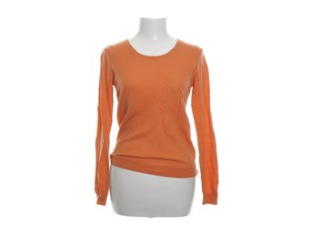 Uniqlo, Pullover, Strl: M, Orange, Ull