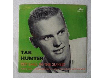 TAB HUNTER - Red Sails In The Sunset +3 Swe-1958 EP