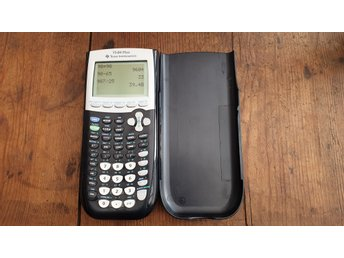 Texas instruments Ti-84 Plus i fint skick.