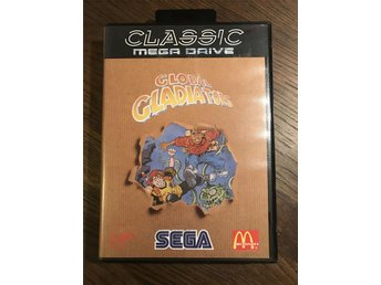Sega Mega Drive - Global Gladiators. Komplett.