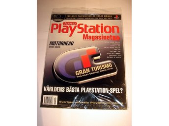 PLAYSTATION 5  NY  CD  5/1998  GRAN TURISMO I ORIGINALPLAST