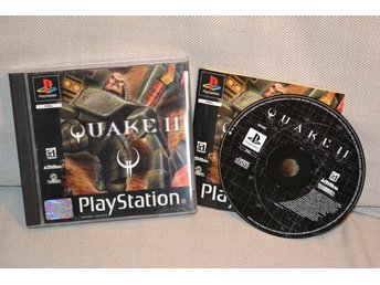 Quake II 2 PS1 Playstation 1 Komplett Nyskick