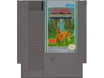 Ikari Warriors - NES - Kassett