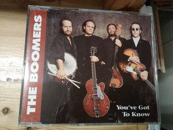 The Boomers - You've Got To Know, CD