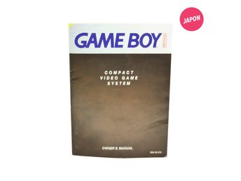 Nintendo Game Boy Owner's Manual (SCN / GB)