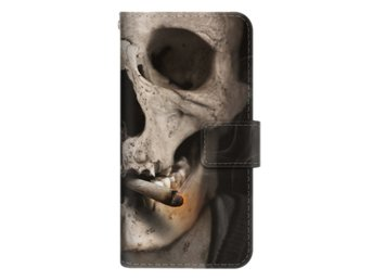 iPhone 7 Plånboksfodral Smoking Skull