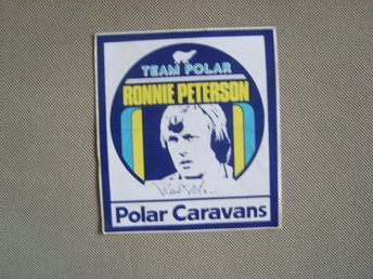 RONNIE PETERSON TEAM POLAR DEKAL