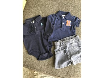 klädpaket Ralph lauren hilfiger Name it 56 - 62
