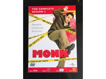 Monk - Säsong 2 - DVD box