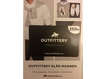 Presentkort Outfittery
