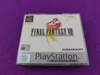 PS1 Final Fantasy VIII Komplett