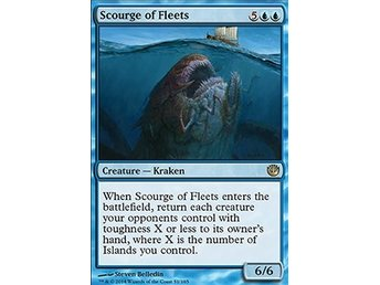 Magic the Gathering - Journey into Nyx - Scourge of Fleets - FOIL