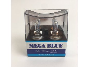 Biltema, Halogenlampor, Super Halogen Bulb Xenon Look, Transparent