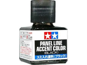 Tamiya Panel accent color - black