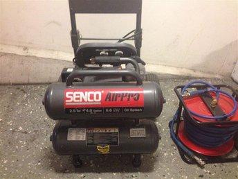 Senco air Pro Kompressor PC2225EU 230V, 2.5HP, 16L, 268L/min SLANGVINDA !!! - Malmö - Senco air Pro Kompressor PC2225EU 230V, 2.5HP, 16L, 268L/min SLANGVINDA !!! - Malmö