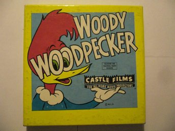"WOODY WOODPECKER   2 CASTLE FILMS  ""HOT  ROD HUCKSTER""  ""RECKLESS DRIVER"""