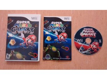 Super Mario Galaxy - Wii, USA-version
