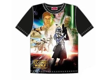 T-SHIRT SVART - STAR WARS(2-4 ÅR)