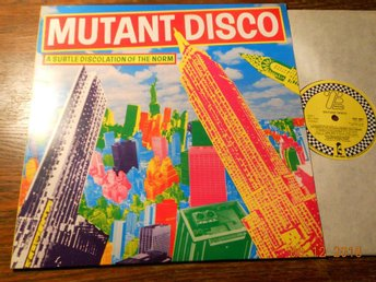 V/A - MUTANT DISCO: A Subtle Discolation Of The Norm, Island LP UK 1981
