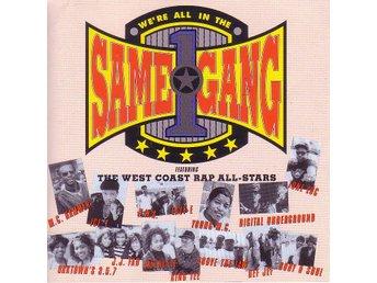We're all the same gang / Samlings-CD (Rap All-stars) - Motala - We're all the same gang / Samlings-CD (Rap All-stars) - Motala