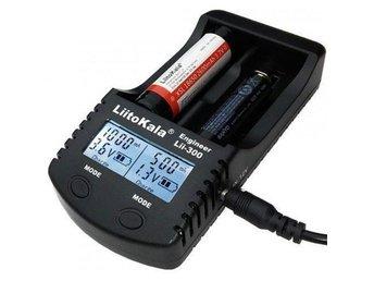 PROFFSLADDARE till Li-ion 18650 m.fl. och Ni-MH AA AAA batteriladdare laddare - Oskarshamn - PROFFSLADDARE till Li-ion 18650 m.fl. och Ni-MH AA AAA batteriladdare laddare - Oskarshamn