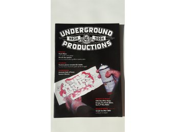 Graffititidningen Underground productions #26, 2004