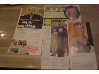 ABBA Swedish Clippings!