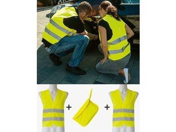 Javascript är inaktiverat. - åkersberga - Car Safety Vest Double Pack EN ISO 20471 Korntex Prod.nr: KX506 Korntex Utvecklad och designad i Centraleuropa Vikt: 120 g/m² Inklusive två reflexvästar i samma färg Certifierad enligt EN ISO20471 EAN/streckkod på skötselrådsetiketten - åkersberga