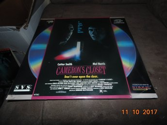 Cameron's closet - Don't ever open the door - 1st laserdisc