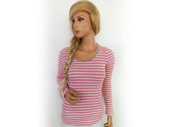 CONTAINER Long sleeve Blouse Size S Pink Denmark