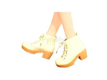 Dam Boots Solid Woman Shoes Four Colors XWX447 beige 40