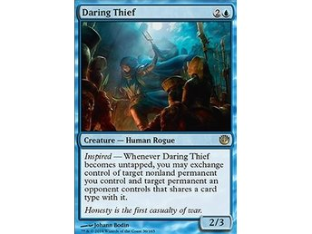 Magic the Gathering - Journey into Nyx - Daring Thief - FOIL