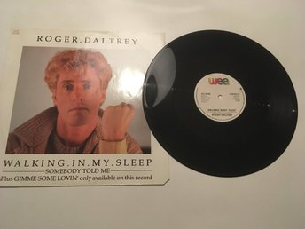 Roger Daltrey - Walking in my sleep The Who vinyl LP