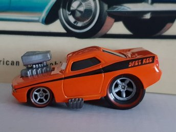 1971 Plymouth Barracuda Cars Disney Pixar