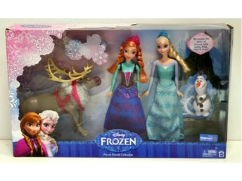 Disney Frozen Friends Collection !! Elsa & Anna + Olof & Sven ! NYHET !! Frost !