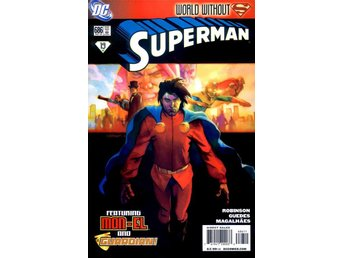 Superman #686 2009 VF (World without Superman tie-in.)