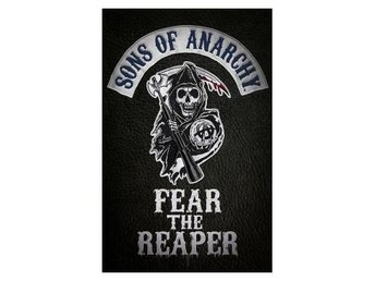 Sons Of Anarchy Affisch Fear The Reaper A856