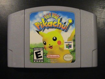 HEY YOU, PIKACHU! / NINTENDO 64 / USA-IMPORT