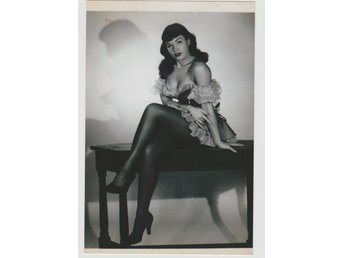 Betty Page  American Model Queen of Pin-Up's 1950's