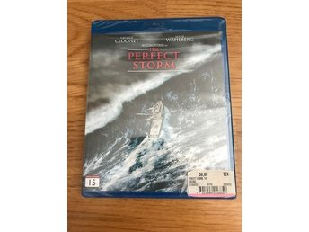 The perfect storm inplastad   Blue-ray