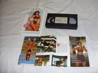 Cindy Crawford The Next Challenge Workout PAL VHS träning video