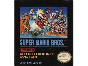 Super Mario Bros. - NES/Nintendo 8-bit - PAL-B/SCN - Cart only